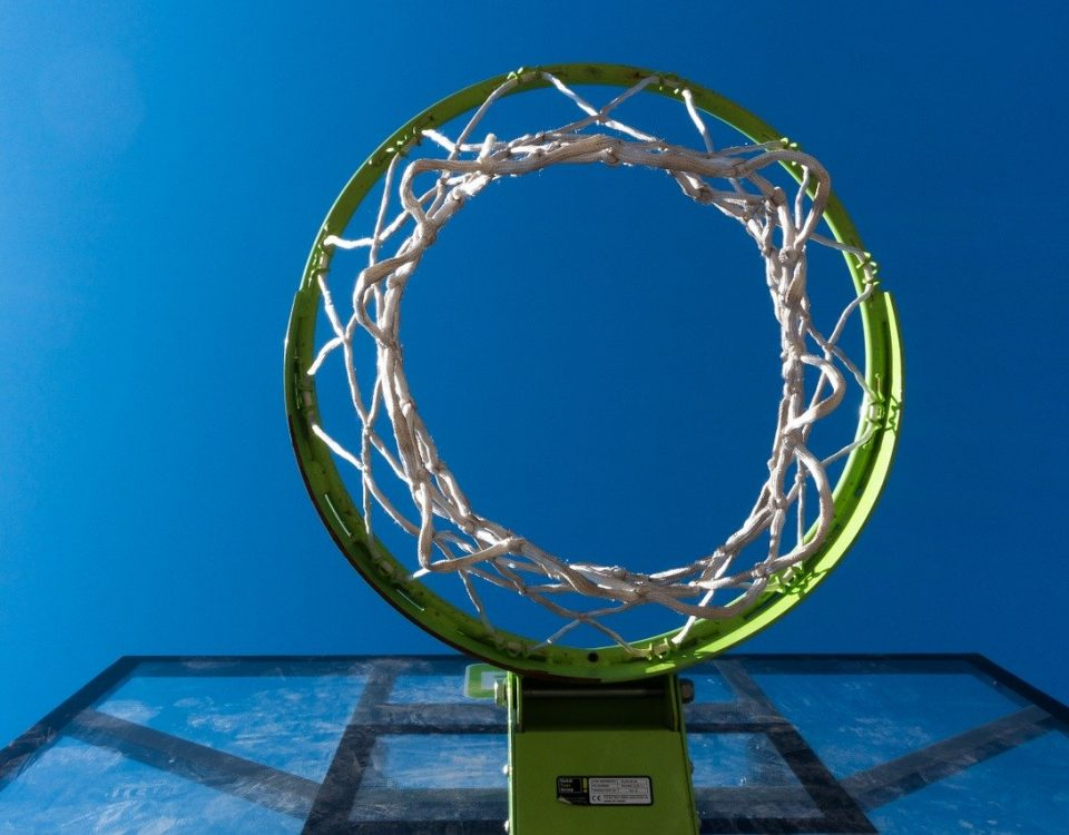 Tiang Basket Portable