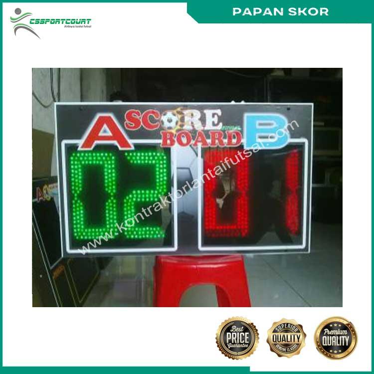papan skor futsal