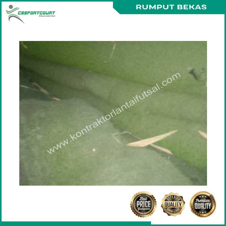 rumput futsal bekas